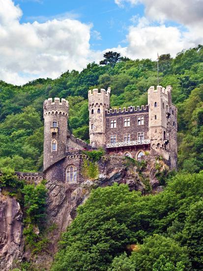 Castle Rheinstein, Rheinland-Pflaz, Germany-Miva Stock-Photographic Print