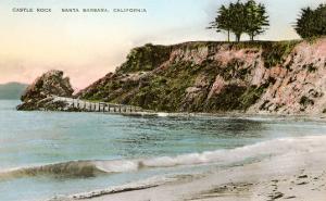 Castle Rock, Santa Barbara, California