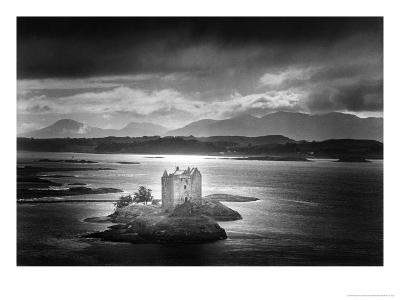 Castle Stalker, Argyllshire, Scotland-Simon Marsden-Giclee Print