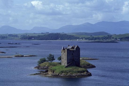 Castle Stalker on Loch Laich, Scotland, UK--Giclee Print