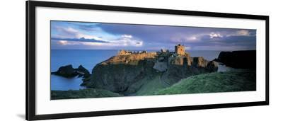 Castle, Stonehaven, Grampian, Aberdeen, Scotland--Framed Photographic Print