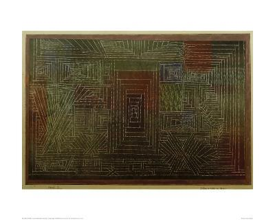 Castle To Be Built in the Forest-Paul Klee-Giclee Print