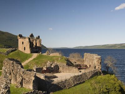Castle Urquhart. Loch Ness, Highlands, Scotland, United Kingdom, Europe-Richard Maschmeyer-Photographic Print