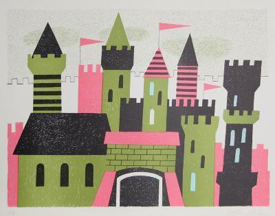 Castle-Arthur Seiden-Collectable Print