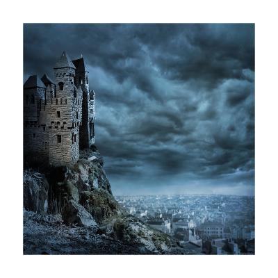 Castle-egal-Art Print
