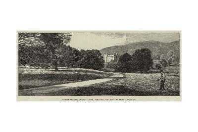 Castlewellan, County Down, Ireland, the Seat of Lord Annesley--Giclee Print