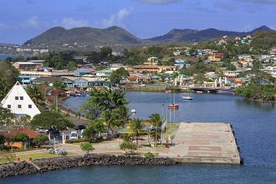 Castries Harbor, St. Lucia, Windward Islands, West Indies, Caribbean, Central America-Richard Cummins-Photographic Print