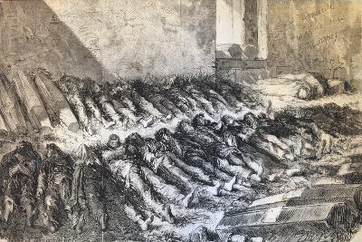 Casualties of the Paris Commune, 1871--Giclee Print