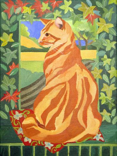 Cat 1, 2014-Jennifer Abbott-Giclee Print