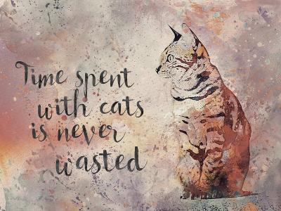 Cat 2-Lebens Art-Art Print