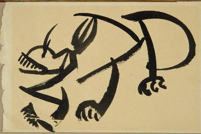 Cat About to Pounce, 1913-Henri Gaudier-brzeska-Giclee Print
