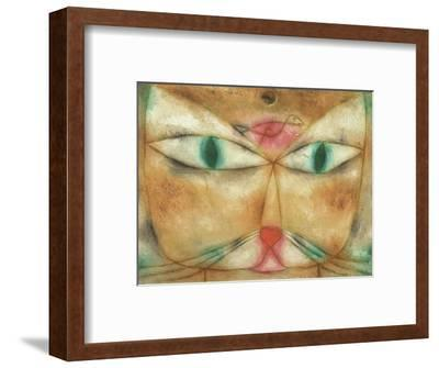 Cat and Bird-Paul Klee-Framed Giclee Print