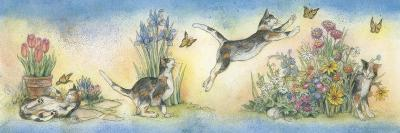 Cat and Butterfly-Kim Jacobs-Giclee Print