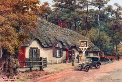 Cat and Fiddle Inn, New Forest-Alfred Robert Quinton-Giclee Print