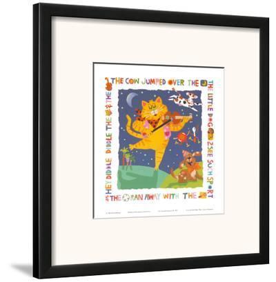 Cat and Fiddle-Cheryl Piperberg-Framed Art Print