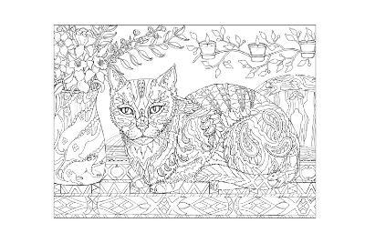 Cat and Mice - Cat Me If You Can-Pamela J. Smart-Giclee Print