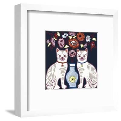 Cat Clone-Kristine Hegre-Framed Art Print