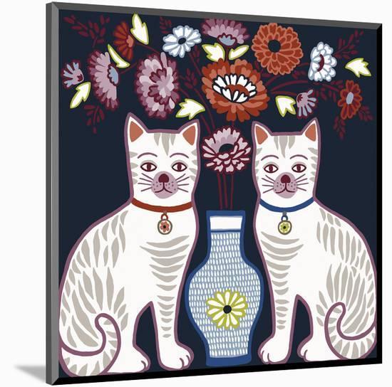 Cat Clone-Kristine Hegre-Mounted Art Print