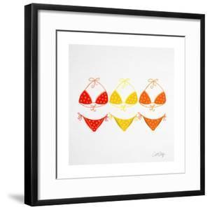 3 Bikini Orange by Cat Coquillette