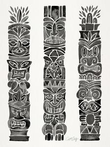 Black Tiki Totems by Cat Coquillette