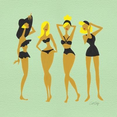 Blonde Bombshells by Cat Coquillette