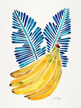 Blue Bananas by Cat Coquillette