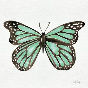 Butterfly in Mint by Cat Coquillette