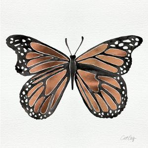 Butterfly in Rose Gold by Cat Coquillette
