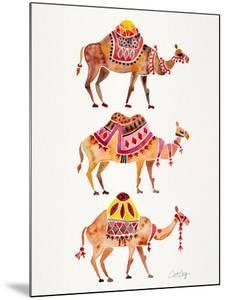 Camel Train by Cat Coquillette