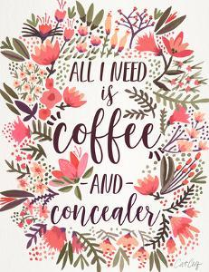 Coffee And Concealer Vintage by Cat Coquillette