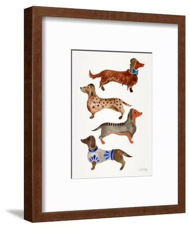 Dachshunds by Cat Coquillette