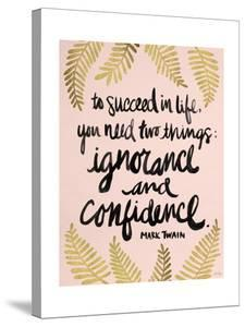 Ignorance and Confidence - Gold and Blush – Cat Coqullette by Cat Coquillette