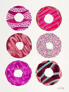 Magenta Donuts by Cat Coquillette