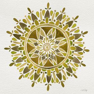 Mandala in Gold by Cat Coquillette