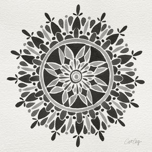 Mandala in Grey by Cat Coquillette