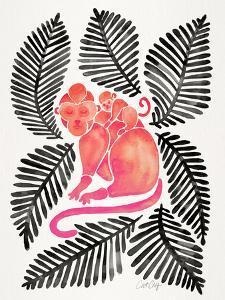 Melon Black Monkeys by Cat Coquillette