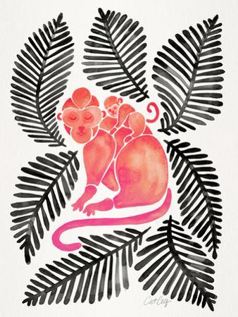 Melon Black Monkeys by Cat Coquillette
