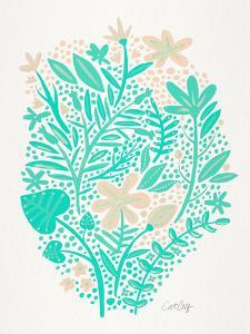 Mint Garden by Cat Coquillette