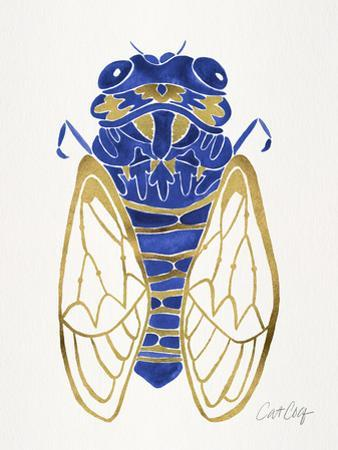 Navy Cicada