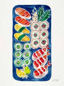Navy Sushi by Cat Coquillette