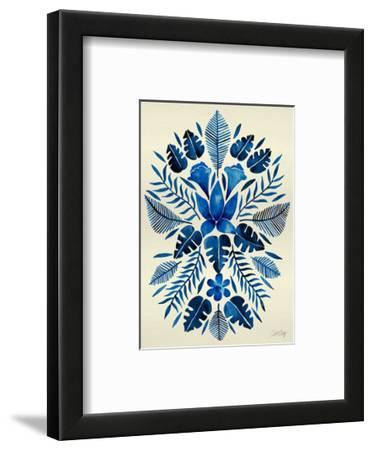 Navy Tropical Symmetry by Cat Coquillette