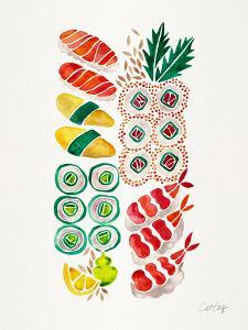 No Platter Sushi by Cat Coquillette