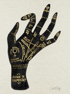 Palmistry Black And Gold by Cat Coquillette