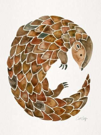 Pangolin by Cat Coquillette