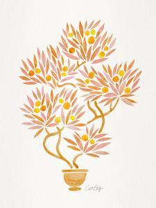 Peach Bonsai Orange by Cat Coquillette