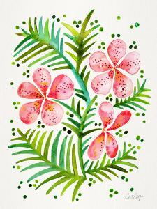 Peach Orchid Bunch by Cat Coquillette