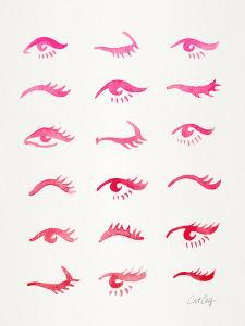 Pink Eyes by Cat Coquillette