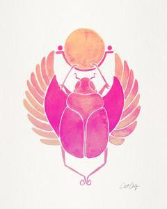 Pink Scarab by Cat Coquillette