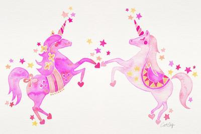 Pink Unicorns by Cat Coquillette