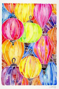 Rainbow Lanterns by Cat Coquillette